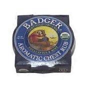 Badger Chest Rub, Aromatic, Eucalyptus & Mint