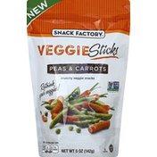 Snack Factory Veggie Sticks, Peas & Carrots
