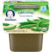 Gerber Organic 2 Nd Foods 2nd Foods Organic Green Beans Organic Purees Vegetable