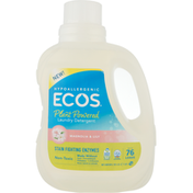 ECOS Laundry Detergent, Plant-Powered, Hypoallergenic, Magnolia & Lily