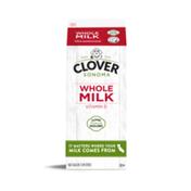 Clover Sonoma Conventional UHT Whole Milk Half Gallon