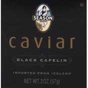Season Brand Caviar, Black Capelin