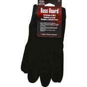Boss Leather Gloves, Large