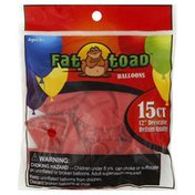 Fat Toad Balloons, Std, Red