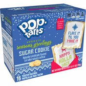 Kellogg's Pop-Tarts Toaster Pastries, Holiday Breakfast Foods, Baked in the USA, Frosted Sugar Cookie