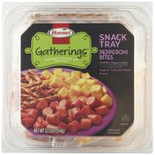 Hormel Gatherings Pepperoni Bites Cheese & Pretzels Snack Tray