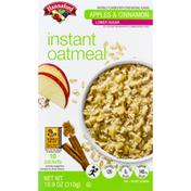 Hannaford Low Sugar Apple Cinnamon Instant Oatmeal