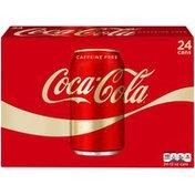 Coca Cola Caffeine Free 12 Oz Cola