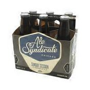 Ale Syndicate Sunday Session A Hopped-up Ale