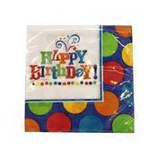 American Greetings Party Supplies Birthday Fever Fun Beverage Napkins