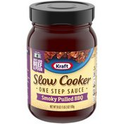 Kraft Slow Cooker Smoky Pulled BBQ One Step Sauce