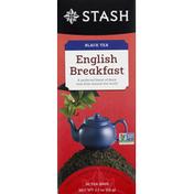 Stash Tea Black Tea, English Breakfast, Tea Bags