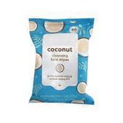 The 99 Coconut Cleansing Facial Wipes