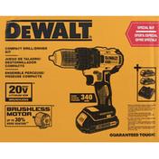 Dewalt Drill/Driver Kit, Compact