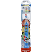 Firefly Toothbrush, Lightup Timer, The Secret Life of Pets, Soft