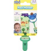 PBnJ Baby Paci Holder, Jungle or Dinosaur