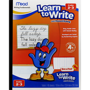 Mead Tablet, Learn to Write with Raised Ruling, Grades 2-3