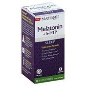 Natrol Melatonin + 5-HTP, Advanced, Bi-Layer Tablets