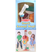 Melissa & Doug Toy, Dust! Sweep! Mop!