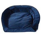 La-Z-Boy Blue Velvet Tucker Sofa Bed for Dog
