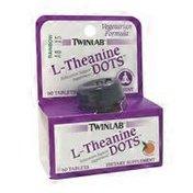 Twinlab L-Theanine, Dots, Tablets, Tangerine Flavor