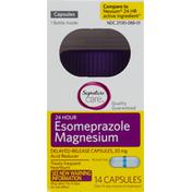 Signature Care Esomeprazole Magnesium, 24 Hour, Capsules