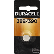 Duracell Battery, Silver Oxide, 389/390