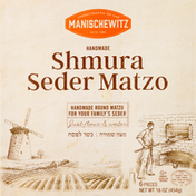Manischewitz Matzo, Shmura Seder, Handmade