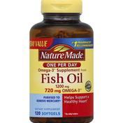 Nature Made Fish Oil, 1200 mg, Softgels