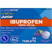 CareOne Junior Ibuprofen Grape Flavor