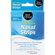 Best Choice Extra Strength Clear Nasal Strips