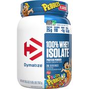 Dymatize Protein Powder, Fruity Pebbles, 100% Whey Isolate