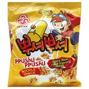 Ottogi Noodle Snack, Spicy Rice Cake Flavor