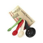 Natural Home Molded Bamboo Measuring Spoons