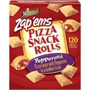 Michelina's Snack Rolls Pepperoni 3-40 Ct Bags Pizza Snack Rolls
