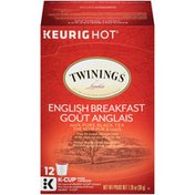 Twinings English Breakfast Tea K-Cup Pods