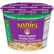 Annie's Canadian White Cheddar Macaroni & Cheese Micro Cup Mac & Cheese