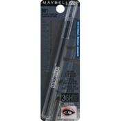 Maybelline Pencil Liner, Gel, Waterproof, Intense Carbon 901