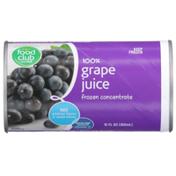 Food Club 100% Grape Juice Frozen Concentrate