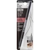 Maybelline Brow Pencil, Ultra Slim, Black Brown 262