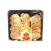 Granny Bs Harvest Sugared Shortbread Cookies