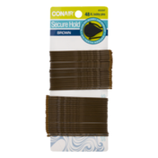 Conair Secure Hold Brown Bobby Pins