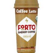 Forto Energy Coffee, Organic, Latte