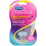 Dr. Scholl's DreamWalk Sole Expressions Heel Liners