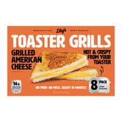 Lilys Toaster Grills Grilled American Cheese Sandwich, 8 pk