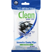HandStands Cleaning Wipes, Automotive, New Car Scent