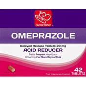 Harris Teeter Omeprazole, 20 mg, Delayed Release Tablets