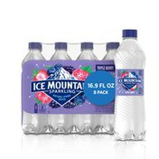 Ice mountain Sparkling Water, Triple Berry