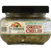 Dos Hermanos Green Chiles, Mild Diced