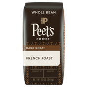 Peet's Coffee French Roast, Dark Roast Whole Bean Coffee, Bag
